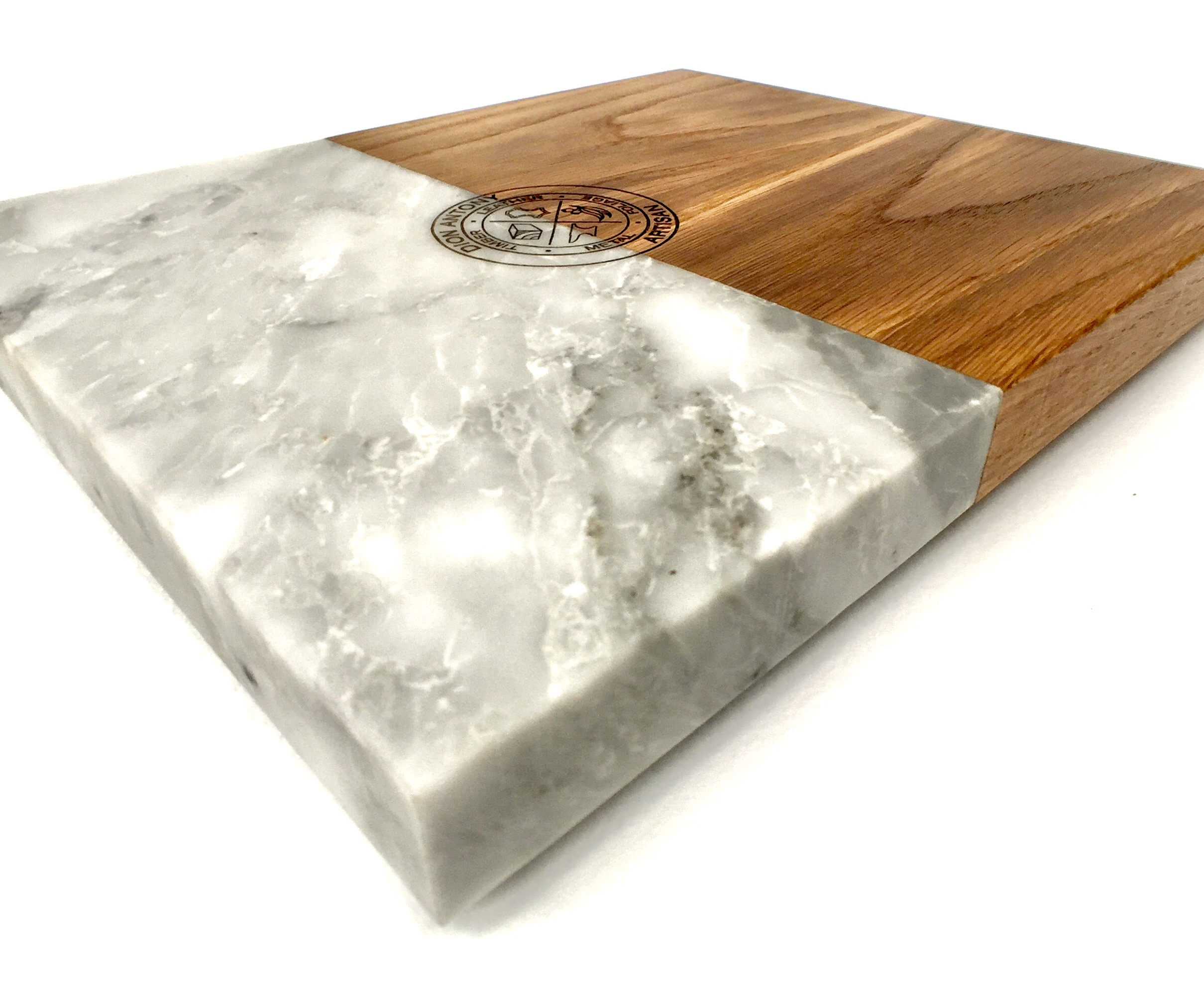 SERVING PLATTER /Marble and Oak